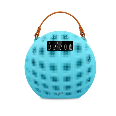 MiFa M9無線藍牙MP3喇叭-冰湖藍