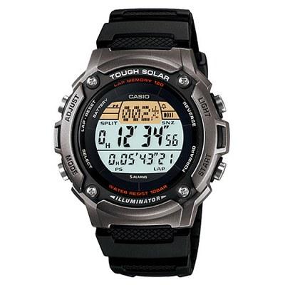 CASIO 太陽能全方位運動數位錶(W-S200H-1A)-深灰框/44.6mm