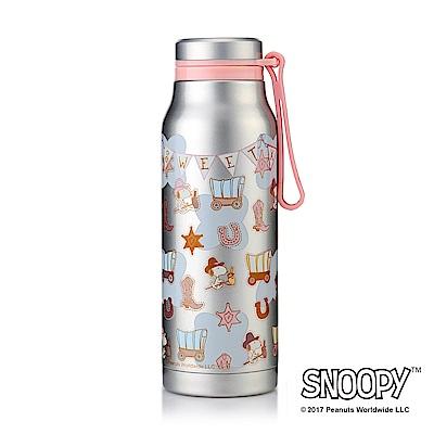 史努比SNOOPY 酷仔#304不鏽鋼提手保溫杯340ml(8H)