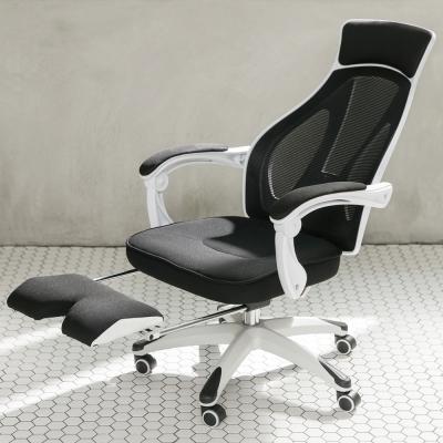 IDEA-比爾舒適高背電腦椅-附腳托.PU靜音輪