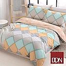DON輕奢時光 雙人四件式天絲柔棉兩用被床包組