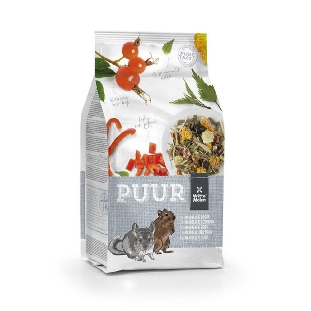 荷蘭偉特PUUR 純天然龍貓飼料 500g 三包組