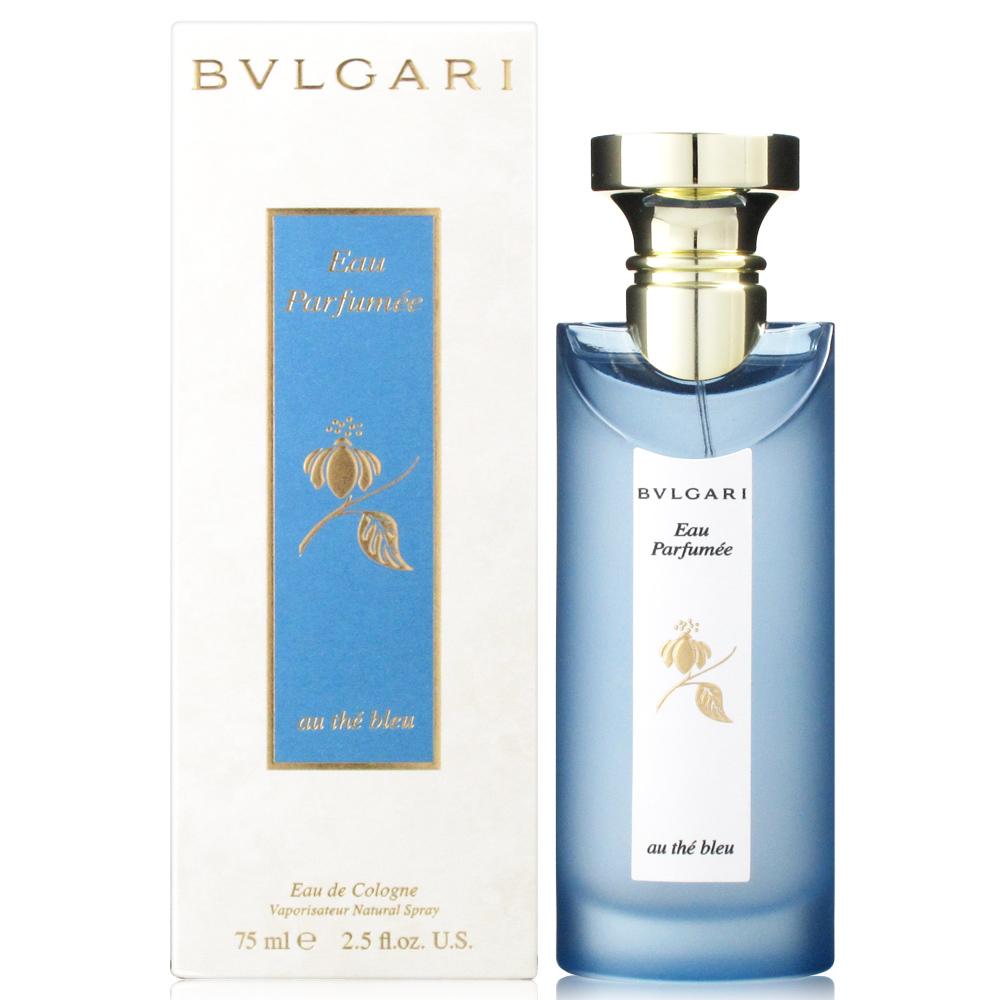 BVLGARI寶格麗 藍茶中性古龍水75ml+隨機針管香水2份