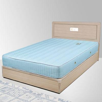 Homelike 朵拉3.5尺床組+獨立筒床墊-單人(二色任選)