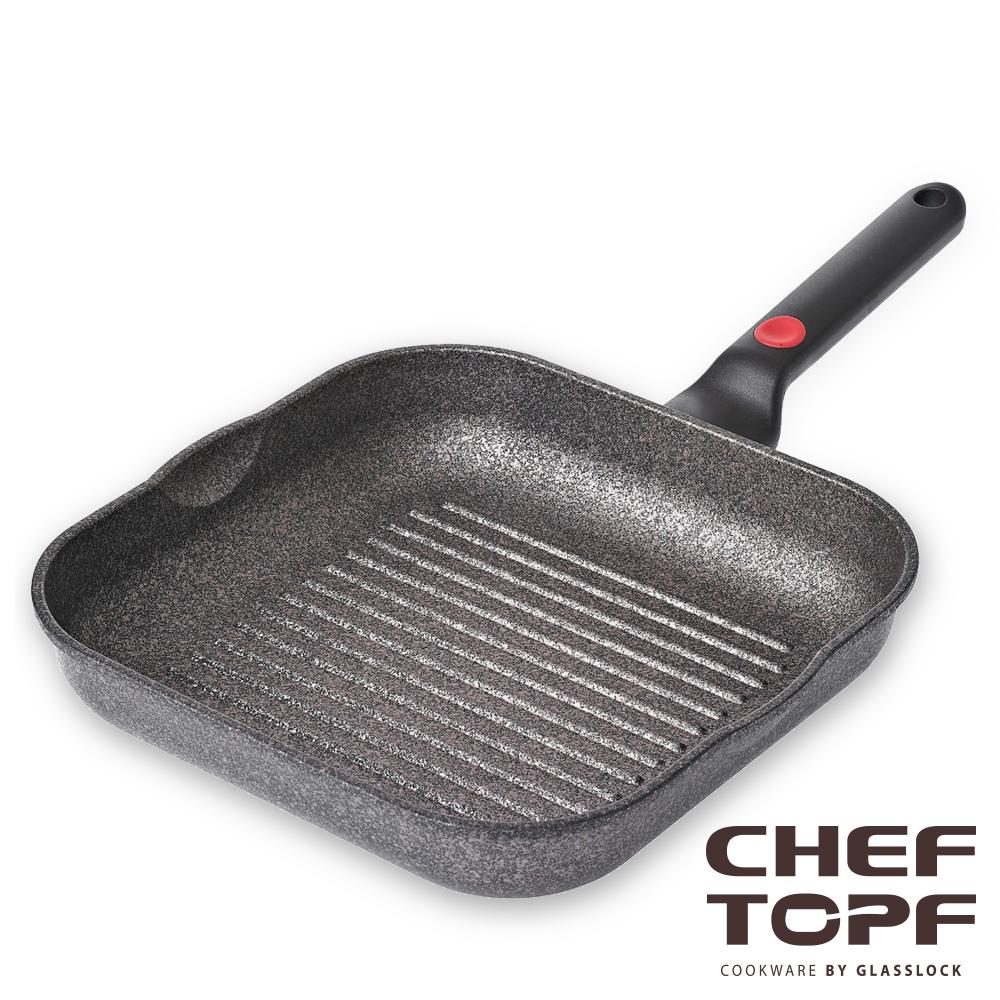 韓國 Chef Topf 崗石系列耐磨不沾煎鍋 28 公分