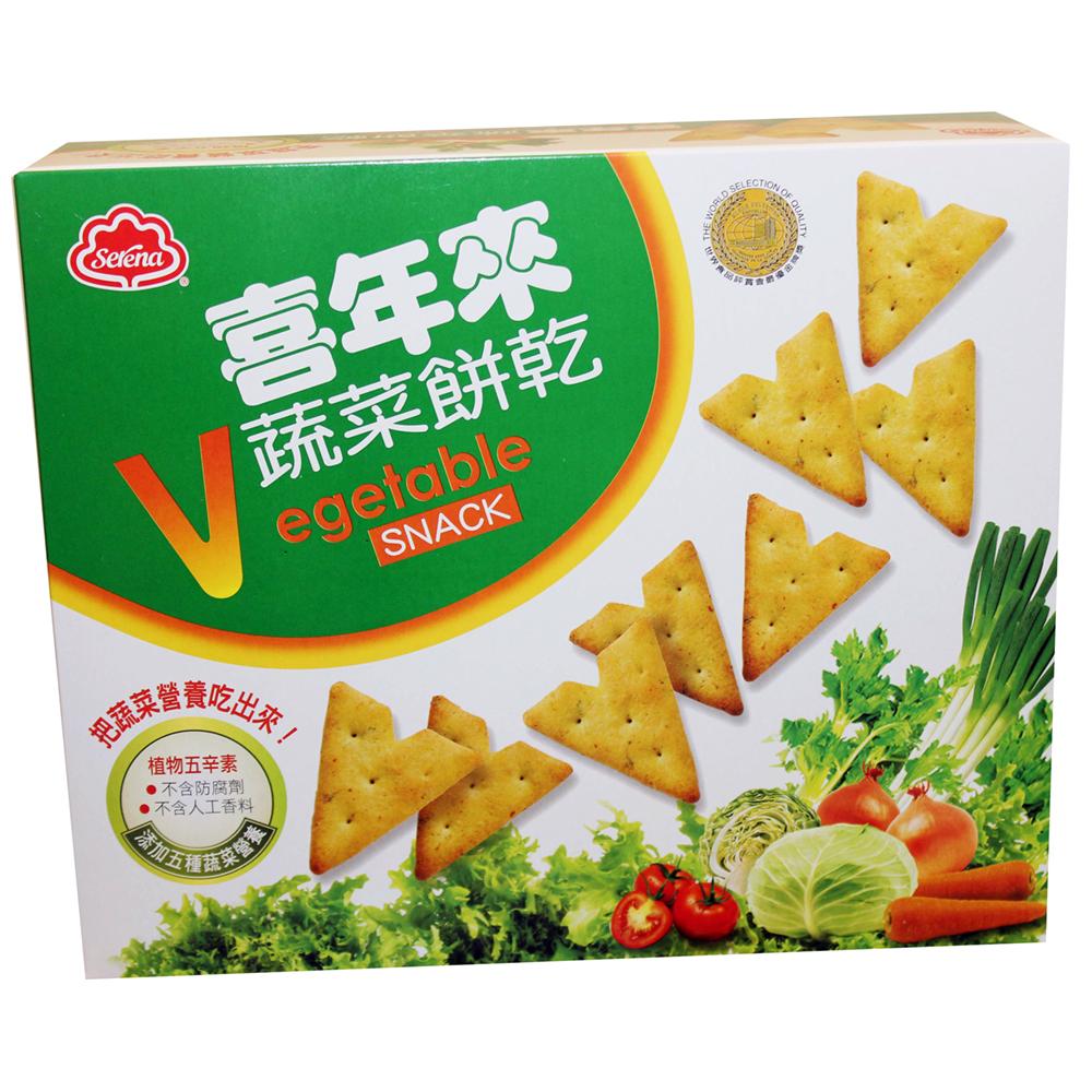 喜年來 蔬菜餅乾經濟包(150g)