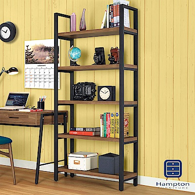 漢妮Hampton蓋爾2.6尺書櫃-80x33.2x180.5cm