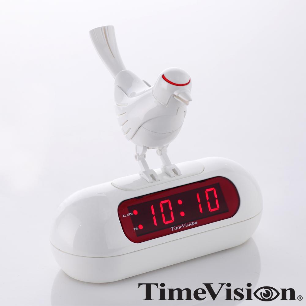 Time Vision 叢林鳥電子鬧鐘