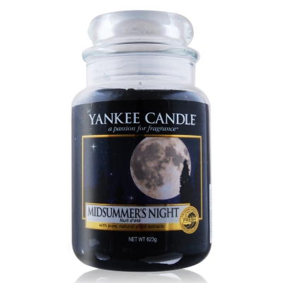 YANKEE CANDLE香氛蠟燭-仲夏之夜623g