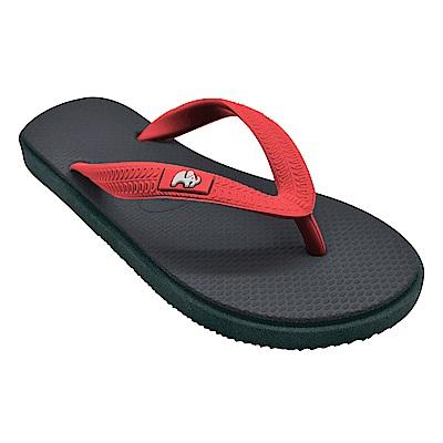 Fipper KIDS 天然橡膠拖鞋 GREY-PEACH