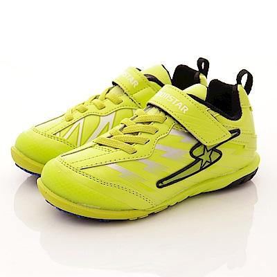 日本月星頂級童鞋 魔動爪競速款 SE877萊姆綠(中大童段)T2