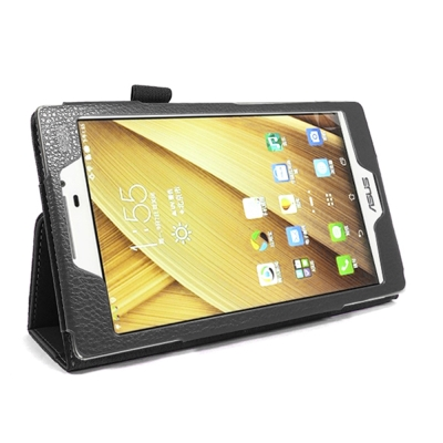ASUS ZenPad 7.0 Z370C/Z370KL 背立式【皮套+保護貼組】