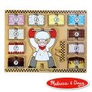 美國瑪莉莎 Melissa & Doug - 厚塊疊層拼圖 - 蛋糕疊數樂