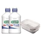 GUM潔齒液二入保鮮盒組合