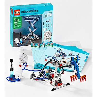 LEGO 樂高 Education 動力機械組空氣動力套件(9641)
