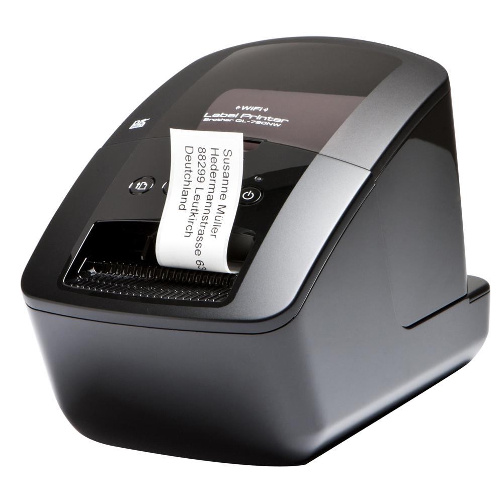 brother QL-720NW 無線網路高速標籤條碼列印機