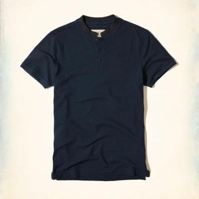 Hollister HCO 短袖 LOGO T恤 藍色 424