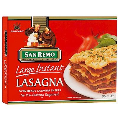 San Remo聖雷蒙 義大利快煮千層麵-大片(250g)