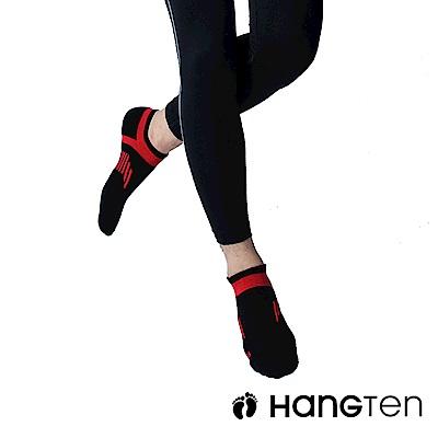 HANG TEN 船型氣墊機能襪3雙入組(男)_紅(HT-A23001)