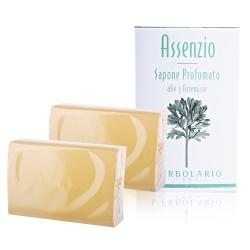 L-ERBOLARIO 蕾莉歐 苦艾淨化保濕植物皂(100g)X2入