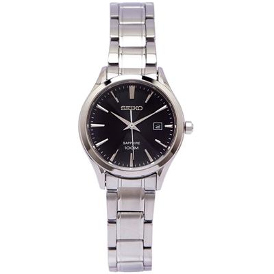 SEIKO 魅力風采女性手錶(SXDG19P1)-黑面/26mm