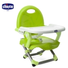 chicco-Pocket snack攜帶式輕巧餐椅座墊-(萊姆綠