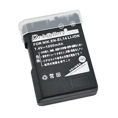 電池王 For Nikon EN-EL14 單眼高容量鋰電池