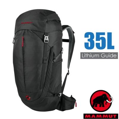 【瑞士 MAMMUT 長毛象】新 Lithium Guide 登山健行背包35L_黑