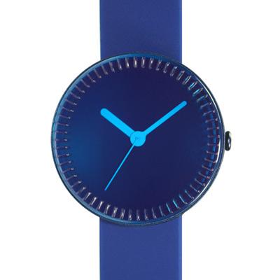 NAVA DESIGN 夢幻瓶罐個性腕錶-藍/40mm