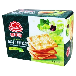 喜年來甘藍蘇打餅乾(75gx2盒)