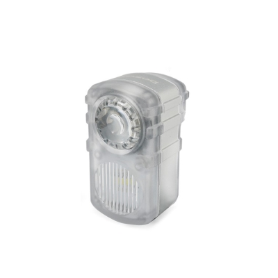 DOSUN DC200 USB充電式雙白光警示燈 白/銀