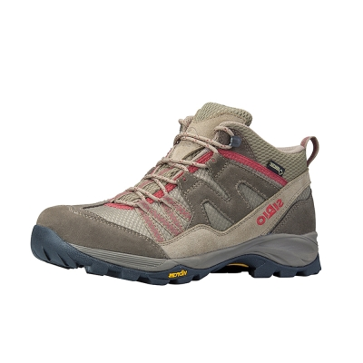 SIRIO PF156 Gore-Tex中筒登山健行鞋 女款 棕紅