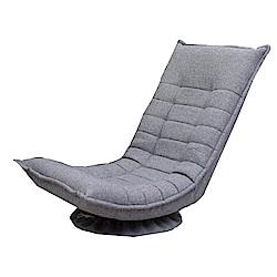 品家居 艾羅爾亞麻布旋轉沙發椅(二色可選)-58x12x129cm-免組