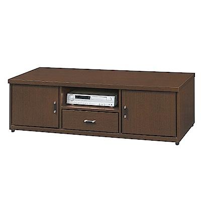 品家居 愛莉森5.1尺胡桃木紋長櫃/電視櫃-151.5x51.5x45.5cm免組