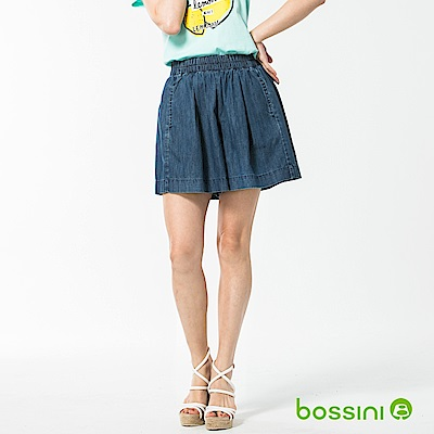bossini女裝-時尚褲裙02靛藍