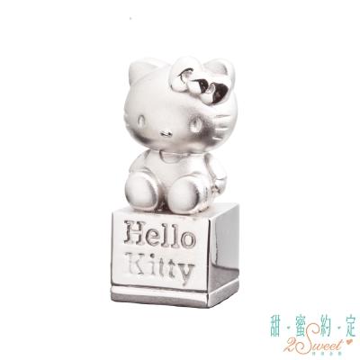 甜蜜約定 HelloKitty 個人風格kitty純銀印章