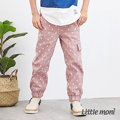 Little moni 印圖束口長褲 (2色可選)