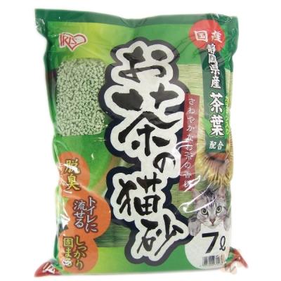 【IRIS】綠茶貓砂 7L (OCN-70N) 三包組