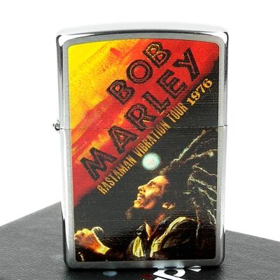 ZIPPO美系-Bob Marley-雷鬼音樂教父紀念打火機