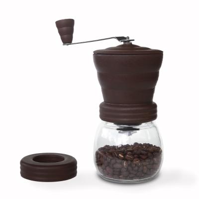 AIDIO 雲朵手搖磨豆機-咖啡色 送 咖啡豆匙