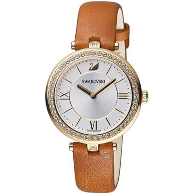 SWAROVSKI施華洛世奇Aila Dressy Lady魅力腕錶(5376645)