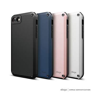 elago iPhone 8 超防摔雙層手機保護殼