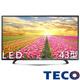 TECO東元 43吋 LED液晶顯示器+視訊