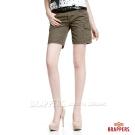 BRAPPERS 女款 女用五分褲-綠