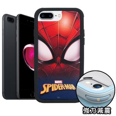 正版授權 iPhone 8 Plus/ 7 Plus 蜘蛛人 軍規防摔保護殼(紅...