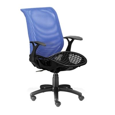 【COLOR】力士限定塑網透氣大網椅(強力避震彈簧)