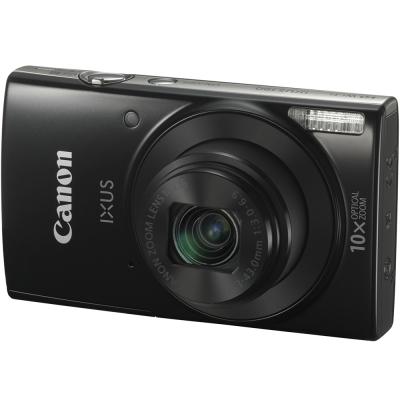 【32G超值組】Canon IXUS 190 內建Wi-Fi/NFC時尚隨身機(公司貨)-黑色