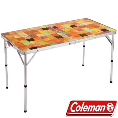 Coleman CM-26751 自然風抗菌摺疊桌 120x60cm 露營休閒桌