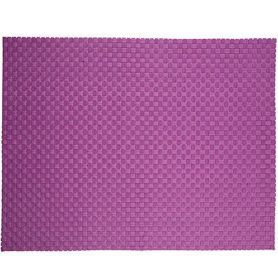 ZONE 十字編織餐墊(紫)