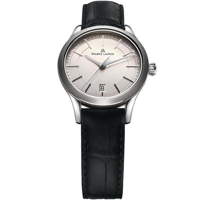 Maurice Lacroix 典雅系列 永恆記憶都會腕錶-銀/33mm